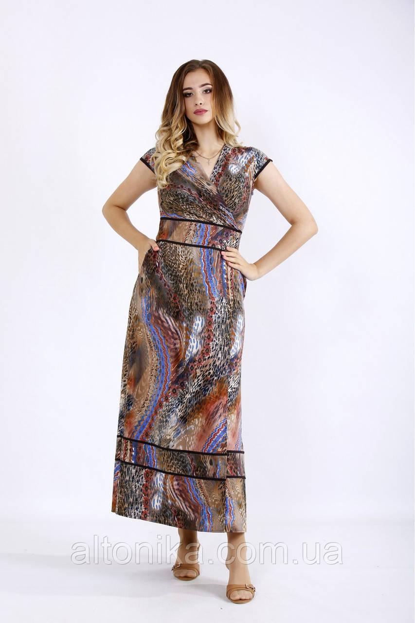 Женское платье в пол/ 42-74