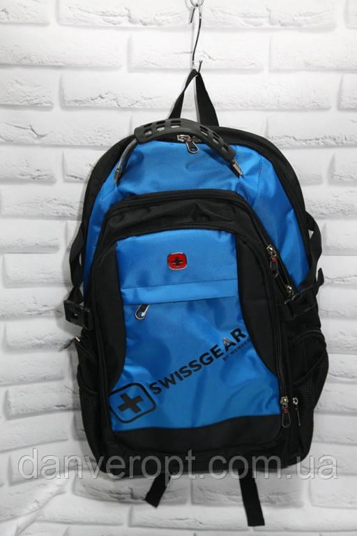 Рюкзак мужской швейцарский модный с портом для наушников размер 32x45 купить оптом со склада 7км Одесса