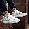 Кросівки чоловічі сітка білі - Фото