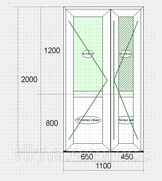 Входные пластиковые двери Steko S-500