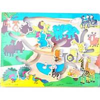"""Развивающая игрушка для детей магнитный лабиринт """"Джунгли"""" B5363"""