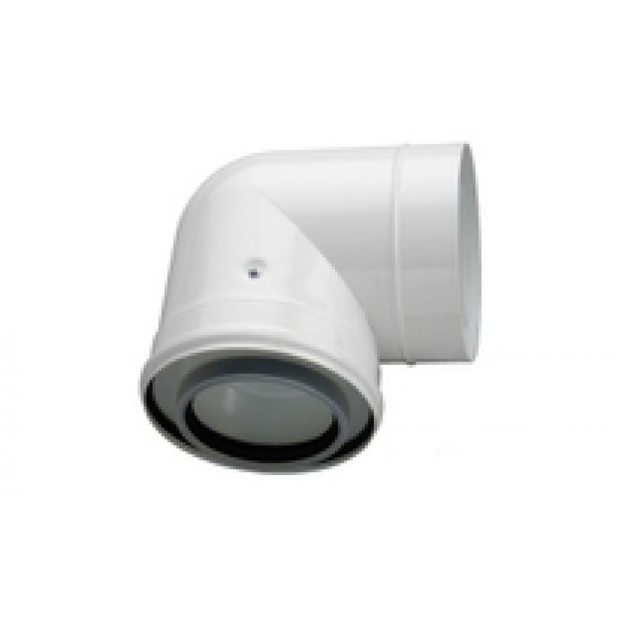 BOSCH AZ 982  Адаптер для разд. дым. 80/80 к котлам с 60/100 (с забором воздуха из помещения)