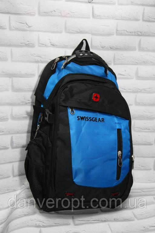 Рюкзак мужской швейцарский модный SWISSGEAR размер 32x45 купить оптом со склада 7км Одесса