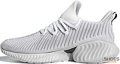 Мужские кроссовки Adidas Alphabounce Instinct Shoes Cloud White / Grey Two / Core Black AQ0562