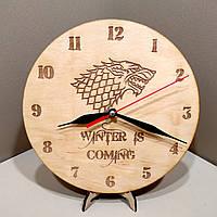 Часы настенные. Настенные деревянные часы., фото 1
