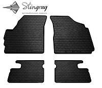 Коврики резиновые Daewoo Matiz 2004- Stingray комплект 4шт черные дэу матиз