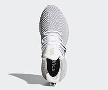 Мужские кроссовки Adidas Alphabounce Instinct Shoes Cloud White / Grey Two / Core Black AQ0562, фото 2