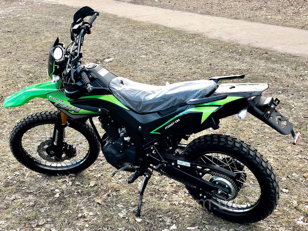 Мотоцикл Forte FT250GY-CBA 2019 (Форте 250 куб. см.)