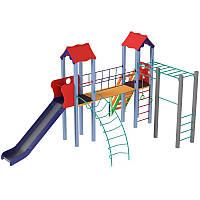 Детская игровая площадка высокая Универсал горки 1,8 м, фото 1