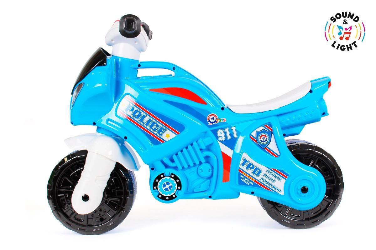 Каталка мотоцикл музыкальный Технок (5781)
