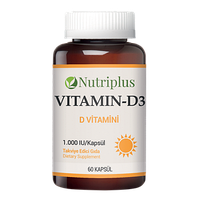 Диетическая добавка Витамин D3 Nutriplus Vitamin-D3 Farmasi.