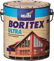 Лак-пропитка Helios Boritex Ultra Хелиос Боритекс Ультра (Топлазурь) 10л