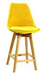 Барный стул Milan Soft Шенилл, желтый, фото 3