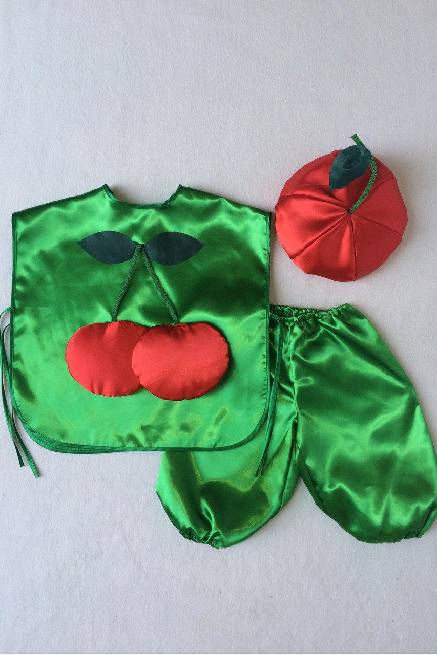 Детский карнавальный костюм Bonita Вишня №1 95 - 110 см Зеленый
