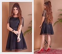 Платье женское из 3-д сетки с подкладкой в расцветках