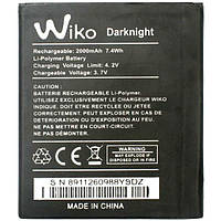 Аккумулятор Wiko Darknight. Батарея Wiko Darknight (2000 mAh). Original АКБ (новая)