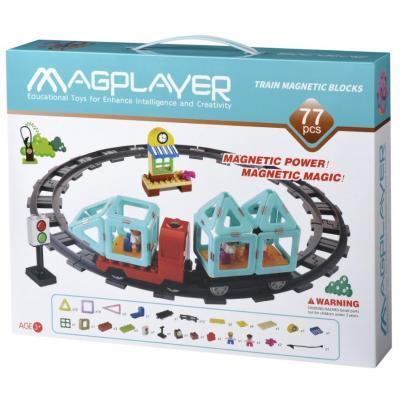 Конструктор Magplayer Поезд 77 эл (MPH2-77)