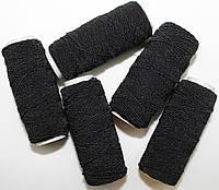 Нить-резинка черная