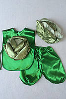 Детский карнавальный костюм Bonita Капуста №1 95 - 110 см Зеленый