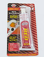 Красный прокладочный герметик силиконовый высокотемпературный VersaChem