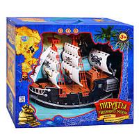 Детский игровой набор Пиратский корабль M 0516 U/R  с пиратами