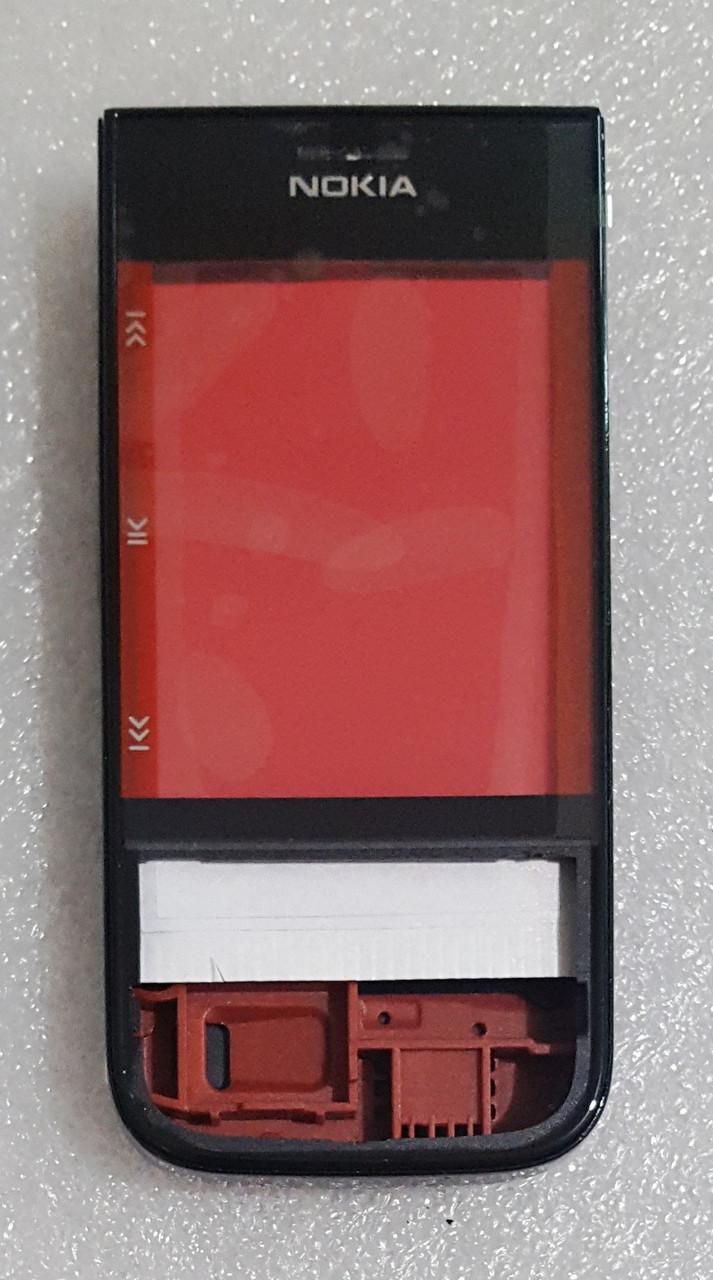 Корпус для Nokia 5330 black-red