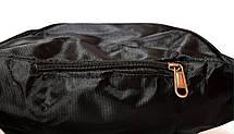 Бананка поясна сумка чорного кольору sports, фото 3