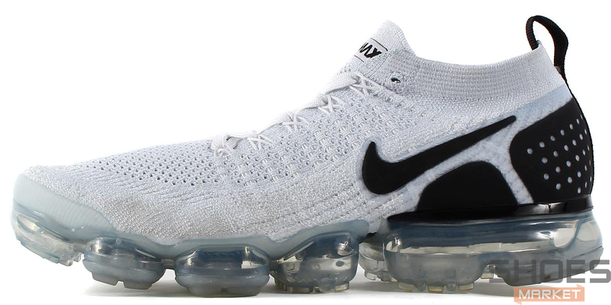 low priced d8512 f5a60 Мужские кроссовки Nike Air VaporMax 2.0 White Black 942842-103