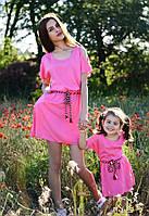 Платье на девочку Дочка № 102 Д  е.в.