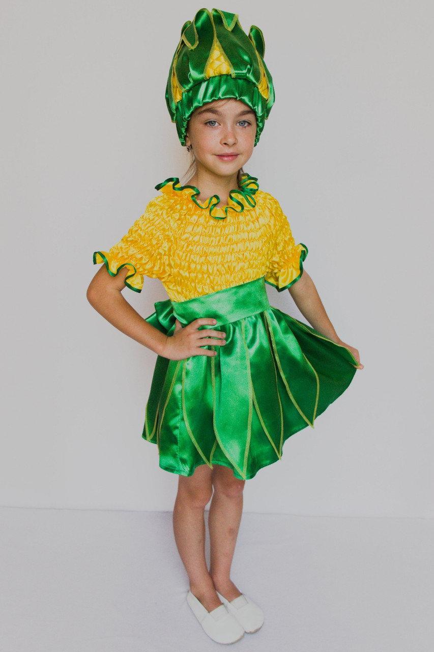 Детский карнавальный костюм Bonita Кукуруза №2 (девочка) 105 - 120 см Желтый