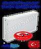 Стальной радиатор Sanica 500x2000 тип 33 боковое подключение