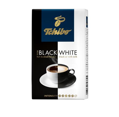 Молотый кофе Tchibo Black & White 250 грамм