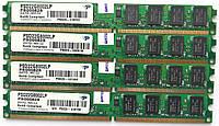Комплект оперативной памяти Patriot DDR2 8Gb (4*2Gb) 800MHz PC2 6400U LP 2R8 CL5 (PSD22G8002LP) Б/У, фото 1