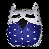 """Декоративная подушка """"Сова"""" 45х35 (синий/белый) ТМ """"Хатка"""" (700043)"""