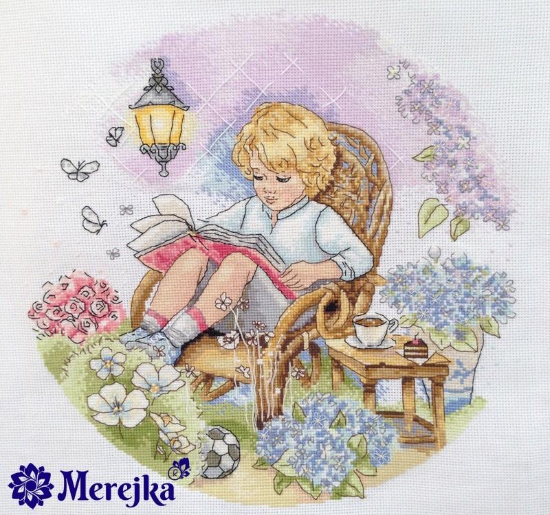 Набор для вышивки крестом Мережка К-18 «Сказочный сад»