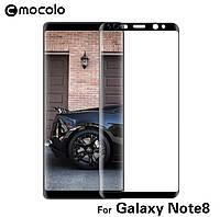 Стекло 3D/5D MOCOLO Glue (полный клей) дляSamsung Galaxy Note 8