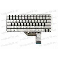 Клавиатура для ноутбука HP Spectre x360 13-4000, 13-4100, 13-4200 (silver, без фрейма) 806500-251