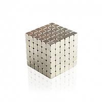 ТЕТРАКУБ 📌 СЕРЕБРО📌 [5мм * 216 кубиков] в КОРОБОЧКЕ NeoCube