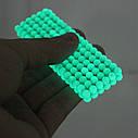 💥 СВЕТЯЩИЙСЯ в темноте 💥 НЕОНОВЫЙ Неокуб 💥 NeoCube (фосфорный, флуоресцентный) 5мм 216 шариков, фото 3