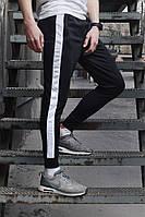 Штаны спортивные с белым лампасом, фото 1