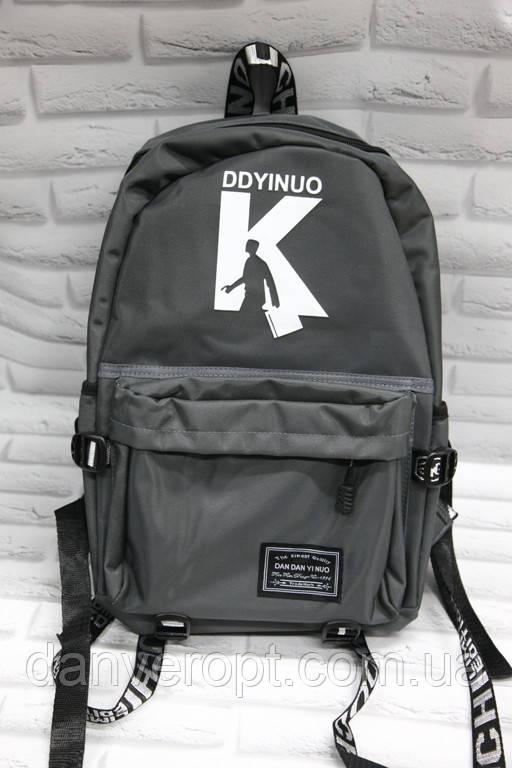 Рюкзак мужской стильный с принтом размер 30x40 купить оптом со склада 7км Одесса