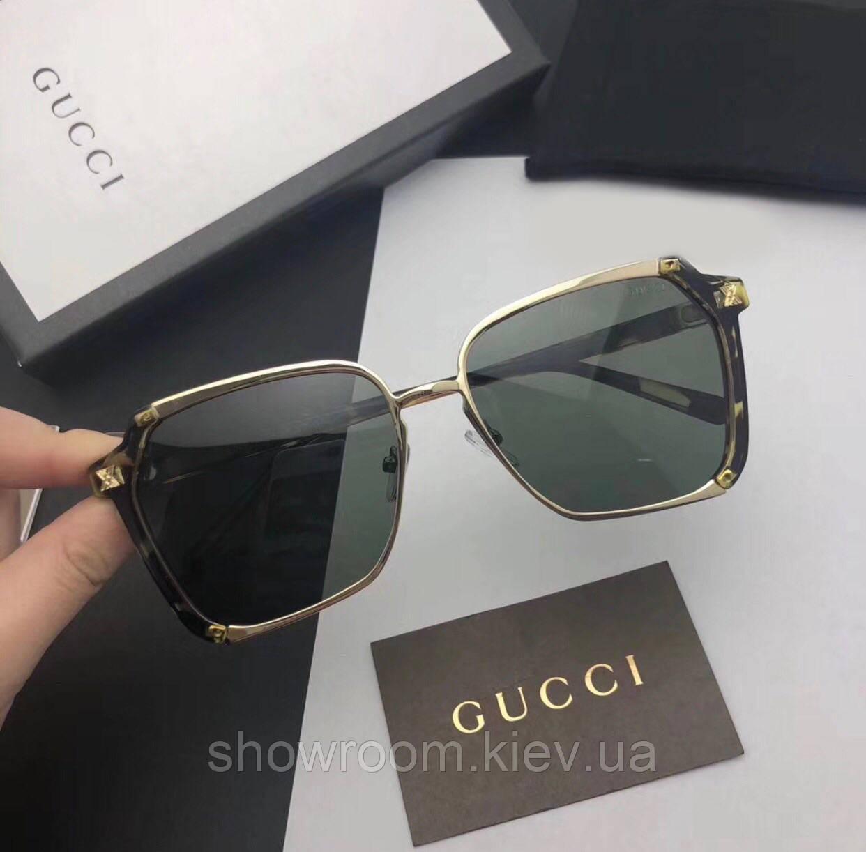 Женские солнцезащитные очки в стиле GUCCI (55934) leo