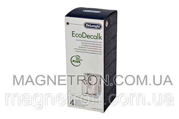 Средство для удаления накипи для кофемашин EcoDecalk DeLonghi 500ml 5513296051, фото 2
