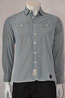 Рубашка голубая 46 рзм.