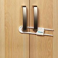 Универсальное защитное приспособление для шкафа с ручками , 2 шт  тм Babyono