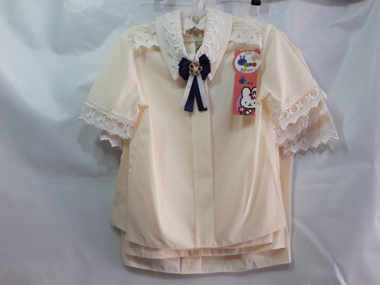 Школьная блузка для девочки р.122-146 опт
