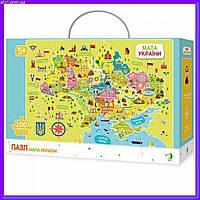 """Пазл для детей DoDo 300109 """"Карта Украины"""""""
