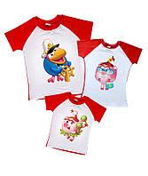 Комплект семейных футболок -  Смешарики