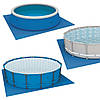 Подстилка для бассейна, 472х472 см, квадратная (28048), фото 2