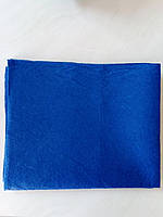 Фетр жесткий синий электрик, 40х45 см, фото 1